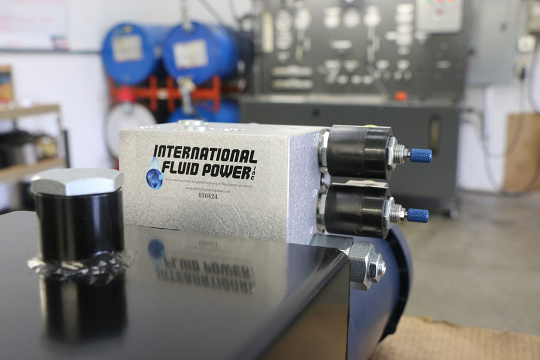 Minnesota hydraulic power units and fluid components