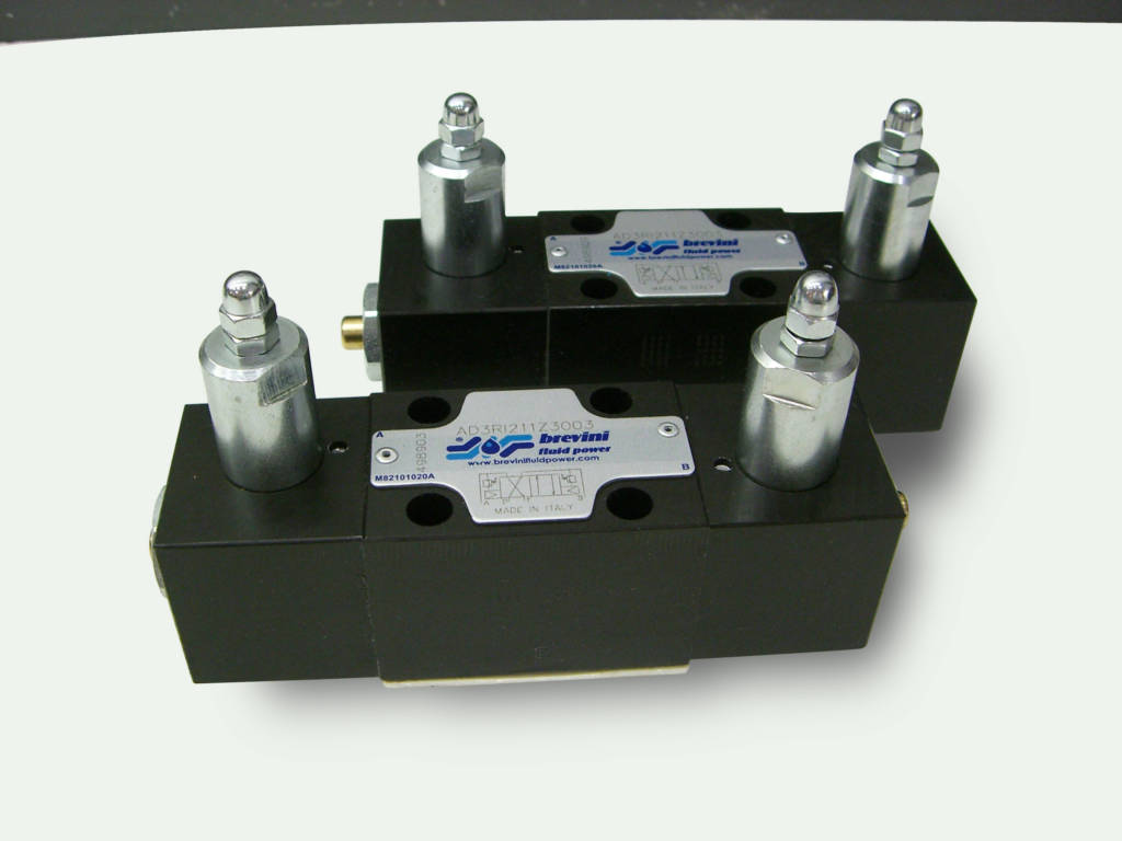 Brevini Reciprocating Fluid Power Valves
